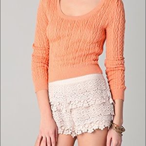 Free people cable guy pullover